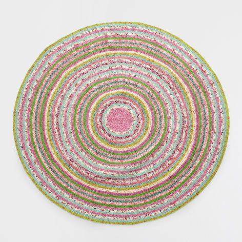 Kids Circular Multicoloured Rug - Rugs - Decoration | Zara Home Sweden