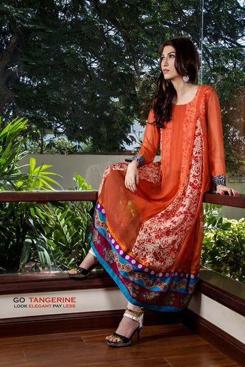 Casual Wear Dresses 2014 for Girls006