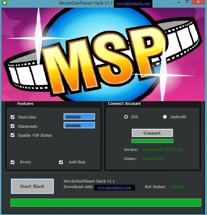 Movie Star Planet Free Hack Generator Tool