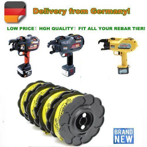 Rebar Bindedraht TW897/Fit MAX RB397/Rebar Bindedraht / Bindedraht spool / Drahtspule für MAX Binden gun/50rolls/EG Versand ab Deutschland von TGLOE, http://www.amazon.de/dp/B00DONKML2/ref=cm_sw_r_pi_dp_dK31rb1GZPB14