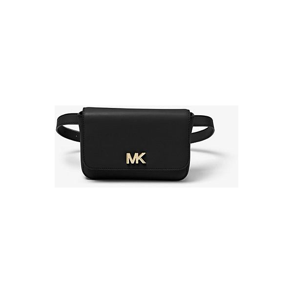 cdca4ef4d578b MICHAEL Michael Kors MICHAEL Michael Kors Mott Leather Belt Bag ( 81) ❤  liked on Polyvore featuring bags