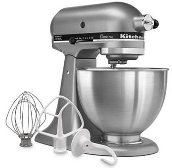 Kohl's.com: *HOT* KitchenAid Classic Plus 4.5-Qt Mixer as Low as $137.24 Shipped (After Rebate & Kohl's Cash) – Hip2Save