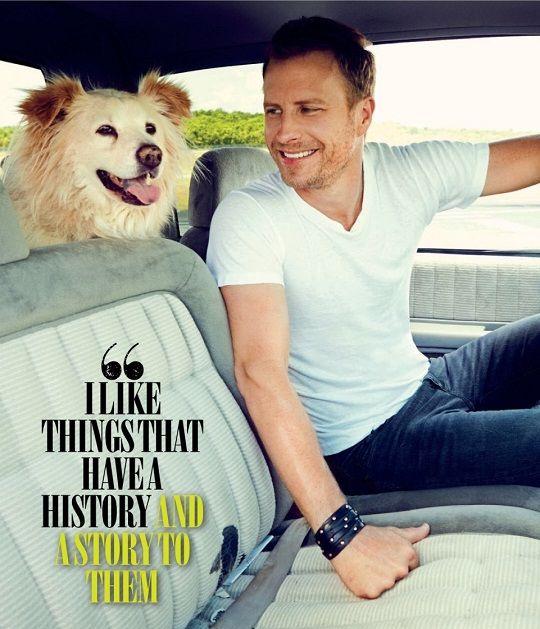 Cute guys with cute dogs (Dierks Bentley)