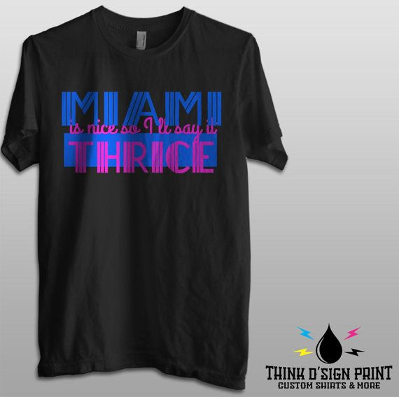 Miami is nice so i say it thrice  Golden Girls by ThinkDsignPrint
