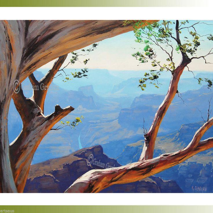 HUGE Grand Canyon Painting Desert Landscape Tree Original Scenic Southwestern  http://cgi.ebay.com.au/ws/eBayISAPI.dll?ViewItem&item=231285951233