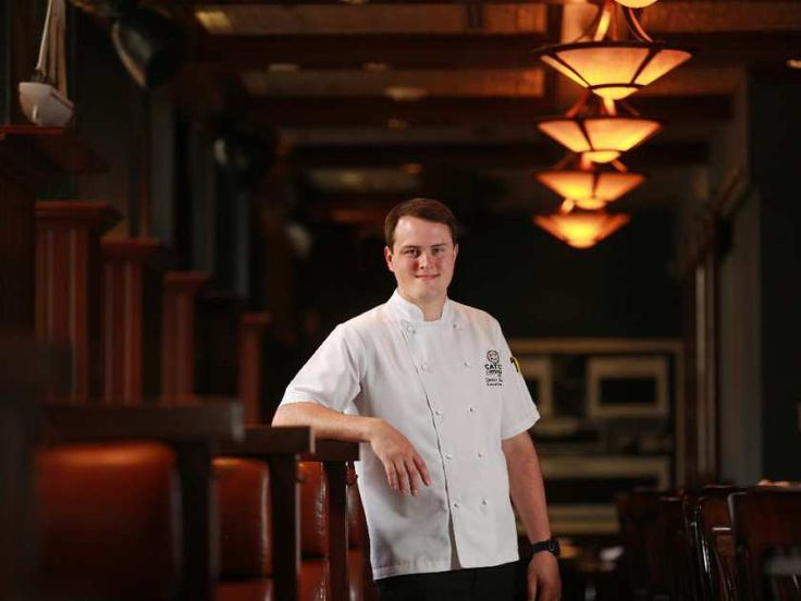 Catch executive chef Daniel Norcott was photographed in the downtown Calgary restaurant on Tuesday June 30, 2015.