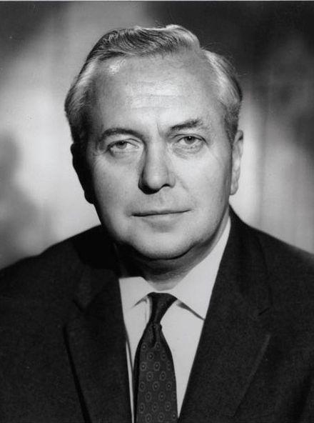 Harold Wilson, UK prime minister March 1974 - April 1976
