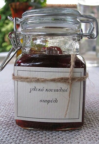 Homemade jam favour, boho, rustic and ultra stylish
