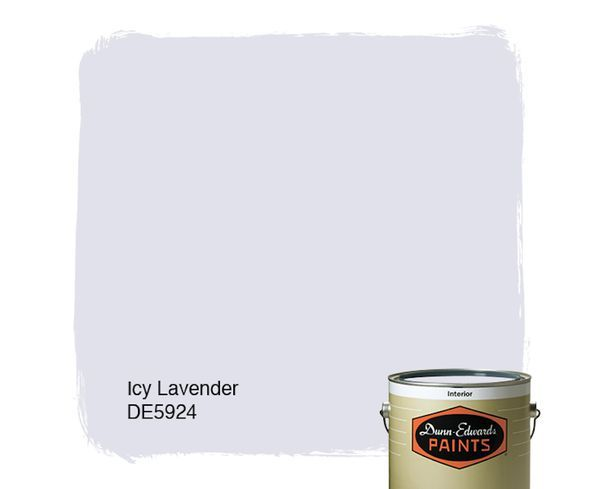 Best Colors For Small Rooms | Dunn Edwards Icy Lavender