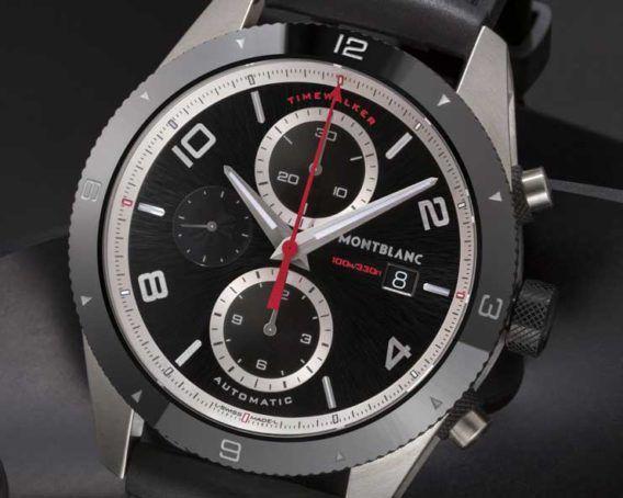 Für den Gentleman-Driver: Montblanc TimeWalker Chronograph Automatic
