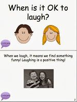 Free Appropriate Laughter - Social Story Packet.