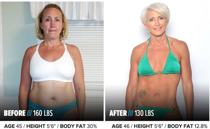 over 45 weight loss