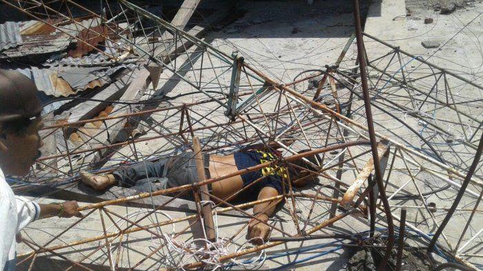 Tukang Becak Tewas Terjatuh dari Tower Masjid Raya Pinrang Hidup Sebatang Kara