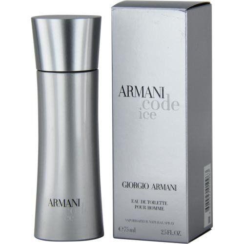 Armani Code Ice By Giorgio Armani Edt Spray 2.5 Oz