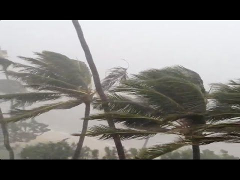 Super Typhoon Vongfong OmPong Landfall & Hits Okinawa Hurricane Toward Japan - Cyclone Storm  Oct 8, 2014