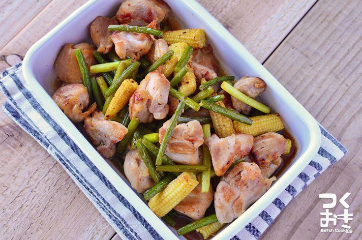 あまじょっぱい味の中華風炒め物です。穀物酢を使用していますが、お好みで甘みのあるお酢を使用してもいいです。