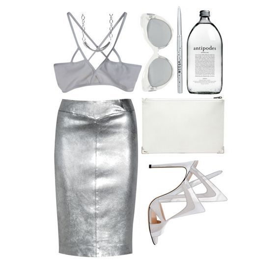 Holographic outfits: back to the FUTURE • ADORENESS