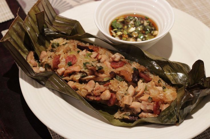 Glutinous Rice Parcels with Pork