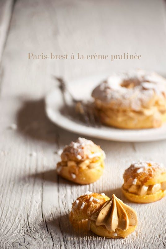 Paris-Brest via Mon Petit Bistrot #recipe