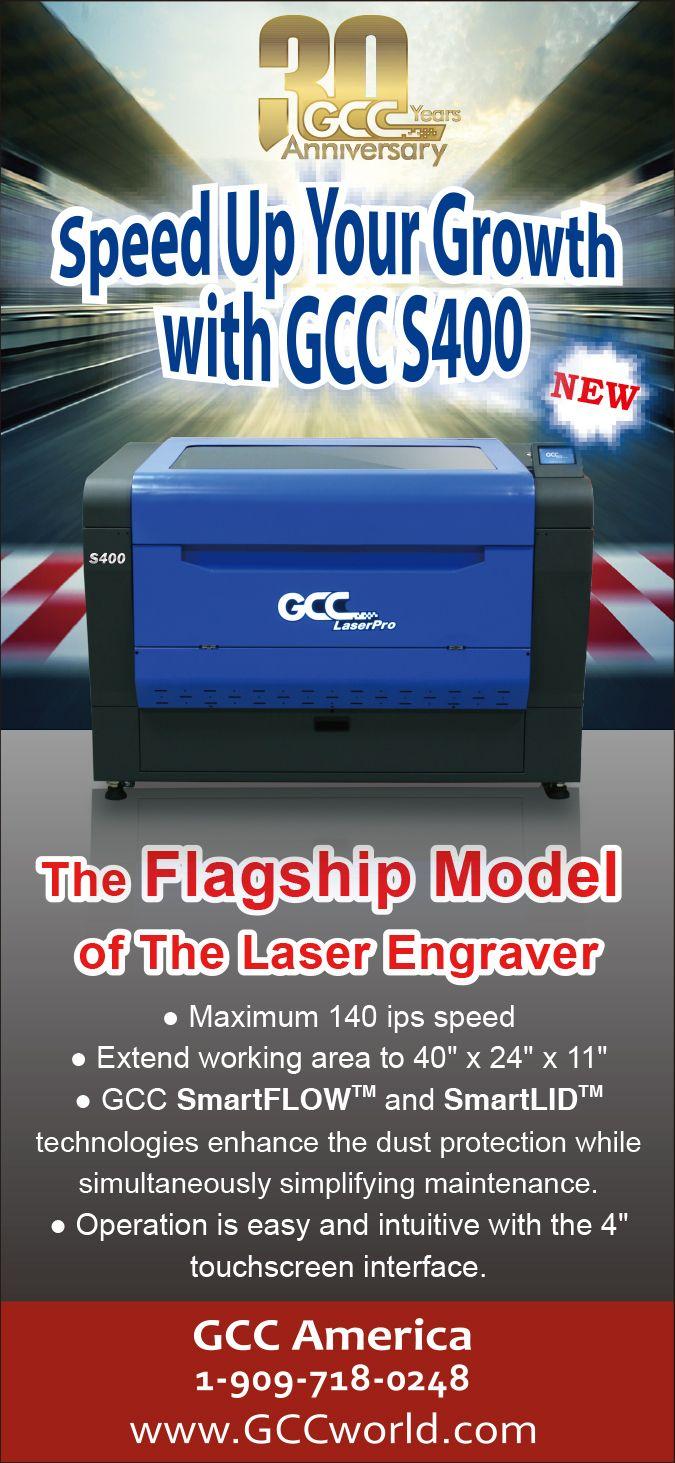 Gcc Laserpro S400 Laser Engraving Laser Engraving Machine Laser Machine