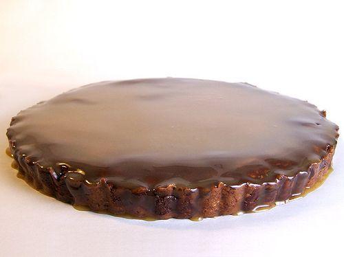 Butterscotch Brownie Tart