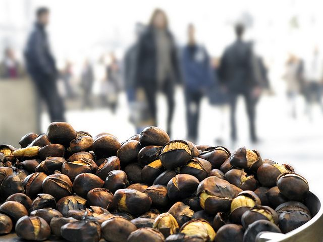 Roast chestnuts by angelocesare, via Flickr