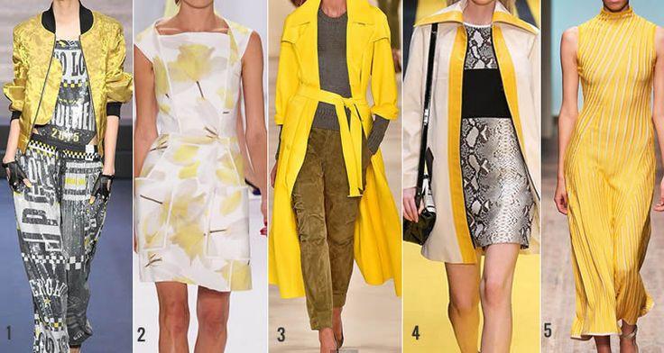 Mode trends lente zomer 2015