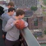 98m WORLD RECORD Basketball Shot   Fun & Misc