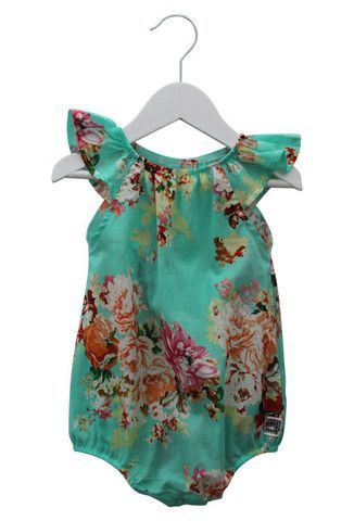 Scout KIDS Romper in Chelsea Blue by Sweet Child Of Mine at The Freedom State