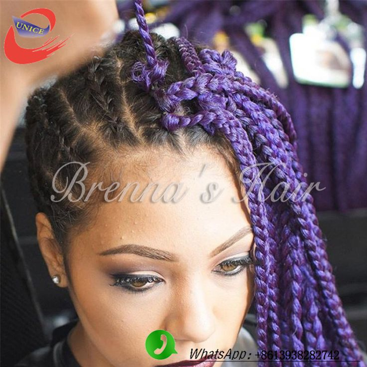 77 best box braids hair images on pinterest braided hair braids crochet box braid extensions purple 18inch crochet braid box hair synthetic braiding hair crochet box braids pmusecretfo Image collections