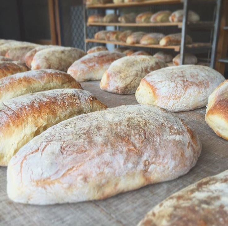 Fresh & warm straight from the oven @ Yallingup Woodfired Bread