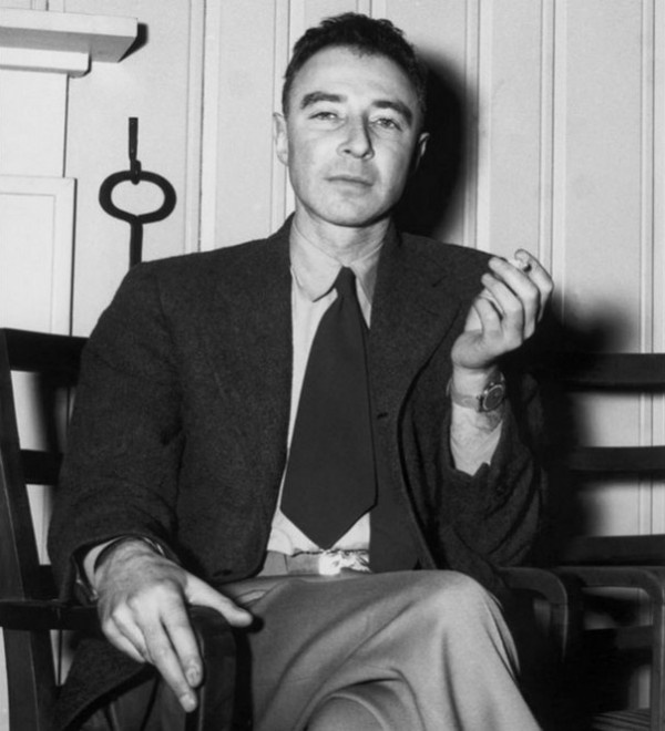 Here is the father of the atomic bomb – Robert Oppenheimer.