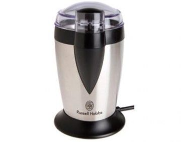 Features/Specifications Product code: 9715 Satin finish Grind all types of coffee beans Safety system to avoid operating if lid not placed correctly 120W For domestic use only