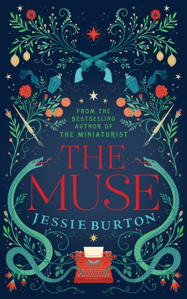 The Muse cover art Lisa Perrin