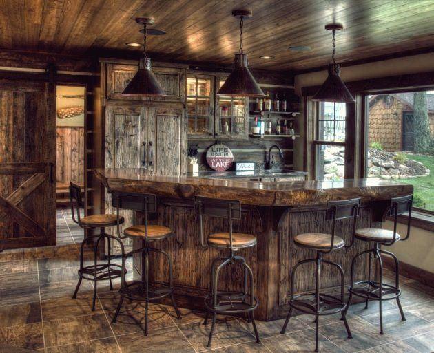 15 Distinguished Rustic Home Bar Designs Wenn Sie Das Getrank