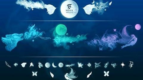 Best Photoshop Brush – TC Magic Spells – Moon http://masbadar.com/28-brush-photoshop-terbaik/