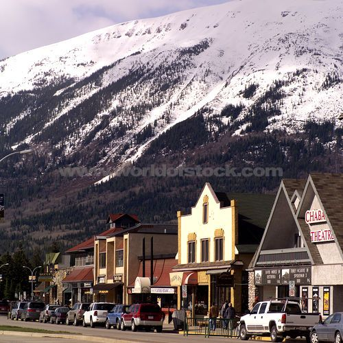 Jasper, Alberta, lots of New Zealand and Aussie accents.  Very fun town to visit