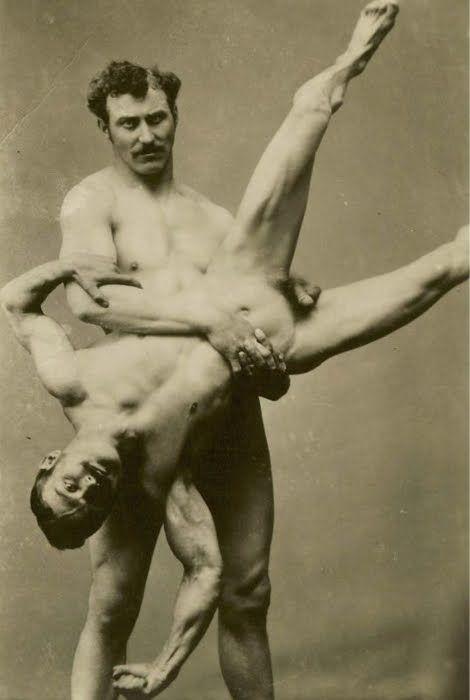 Wrestling gay vintage