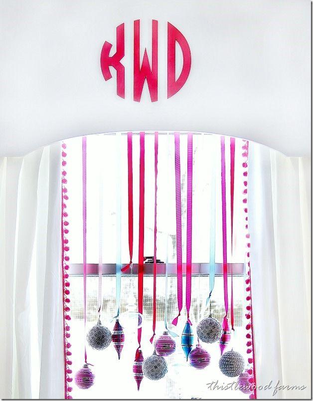 Fun Idea to Decorate a Window
