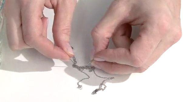 Astuce: comment défaire les noeuds d'une chaîne
