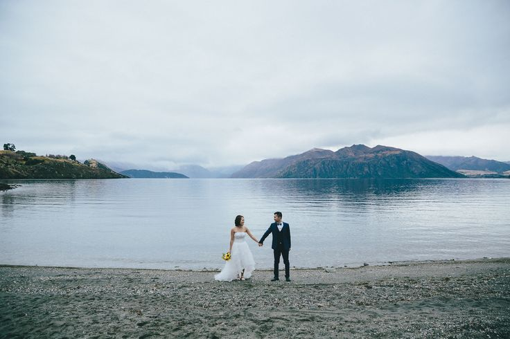 Wedding at Waterfall Creek on the western shores of Lake Wanaka offering spectacular lake and mountain views. Wedding organised by www.theweddingcompany.co.nz Photograph by www.wanakaphotography.co.nz