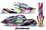 Kawasaki 750 SX SXR Jet Ski Graphic Wrap Kit 1992-1998