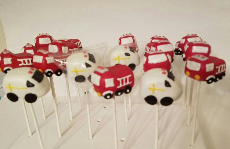 Truck Cake Pops