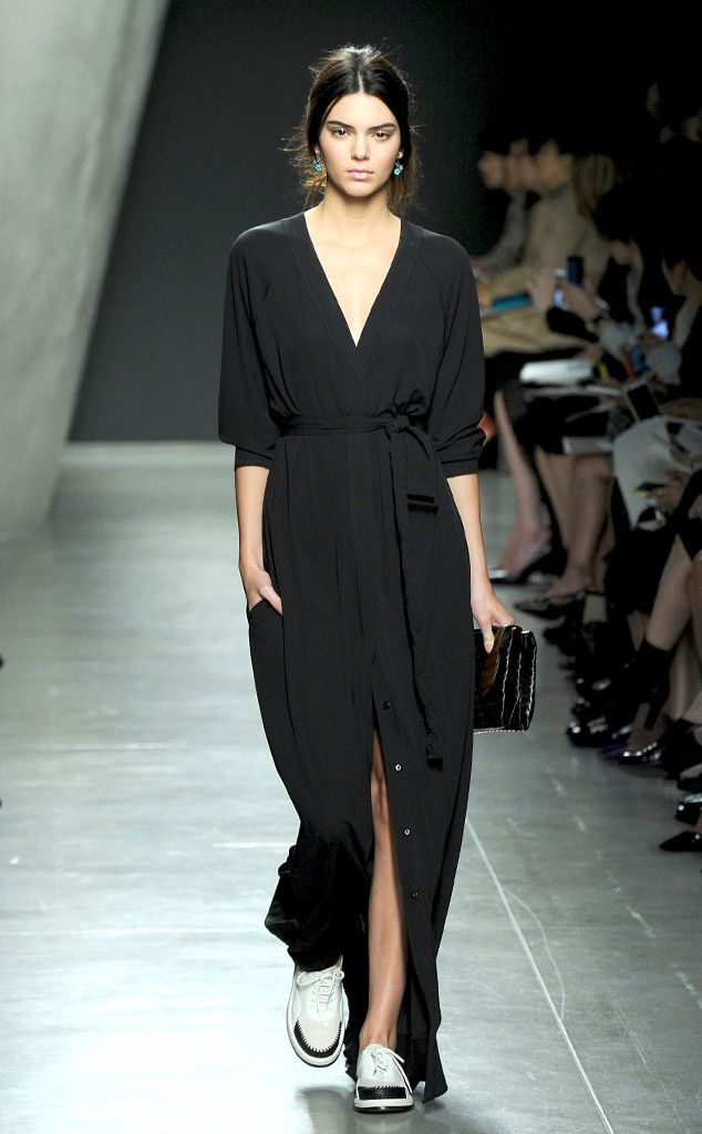 ate that.                                                                   Kendall Jenner, Bottega Veneta, Milan Fashion Week