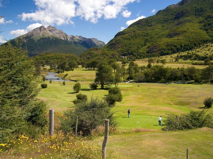 After being born in Scotland's high northern latitudes, golf has since spread to the far southern tip at Ushuaia Golf Club on the edge of Tierra del Fuego National Park. The Rio Pipo defines the nine-hole course while roaring down from the Andes; it comes to play on five of the nine holes, most notably No. 8, where it protects a ragged green. The extreme latitude—55 degrees south—means that duffers can take a hack from October through May for most of the day, with tee times starting as early…