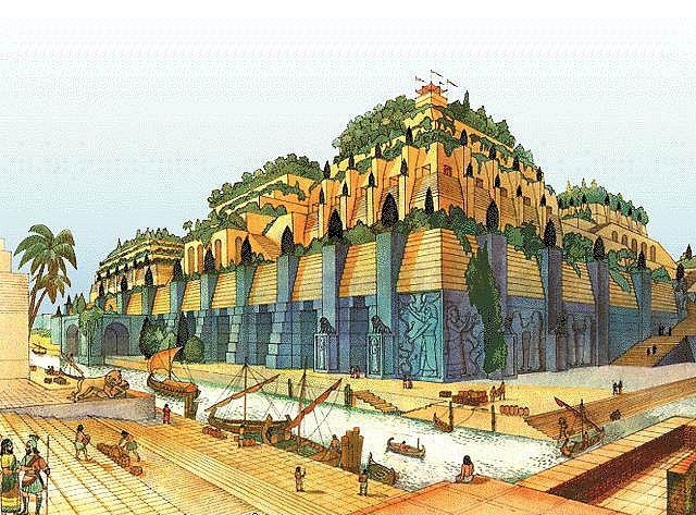 The Hanging Gardens of Babylon | Flickr - Photo Sharing!