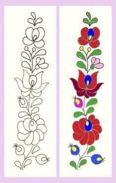 bordado mexicano patrones mandalas para imprimir - Buscar con Google