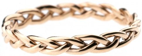 "Beautiful wedding band...""A cord of three strands is not easily broken"""