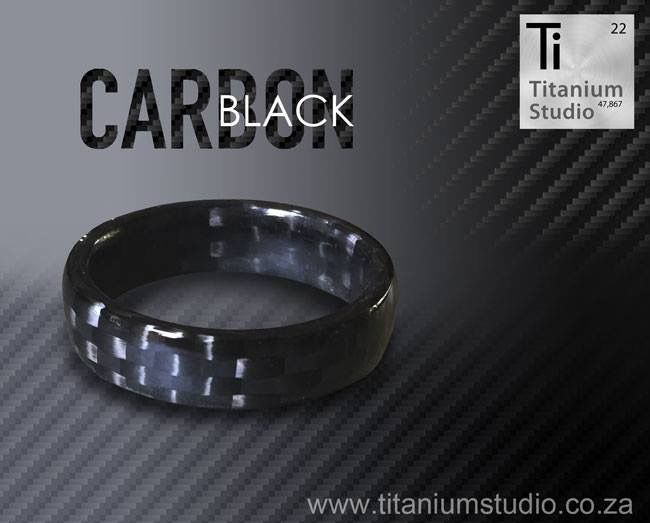 Full carbon fiber ring. Very light, comfortable and strong. Info@titaniumstudio.co.za