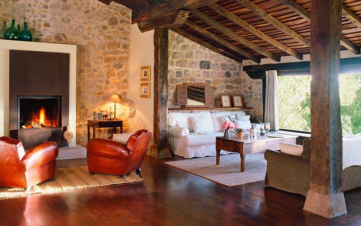 38 best madera maciza images on pinterest solid wood - Casas rusticas de madera ...